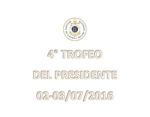 TROFEO DEL PRESIDENTE 2016